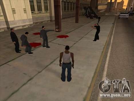 Los rusos en el distrito de Compras de la v2 para GTA San Andreas sucesivamente de pantalla
