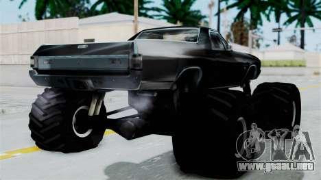 Chevrolet El Camino SS 1970 Monster Truck para GTA San Andreas left