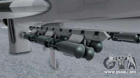 TU-22M3 Gris para la visión correcta GTA San Andreas