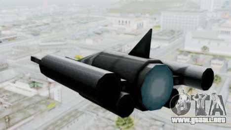 TCFU Spaceship para la visión correcta GTA San Andreas