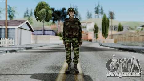 Srpski Vojnik 1999 para GTA San Andreas segunda pantalla
