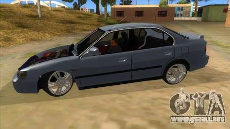 Honda Accord Sedan 1997 para GTA San Andreas left
