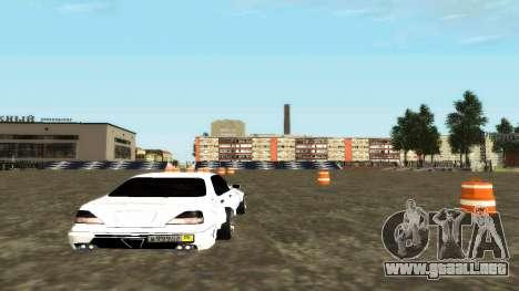 Nissan Cedric WideBody para la visión correcta GTA San Andreas