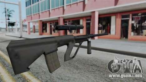 Vice City Beta Steyr Aug para GTA San Andreas segunda pantalla