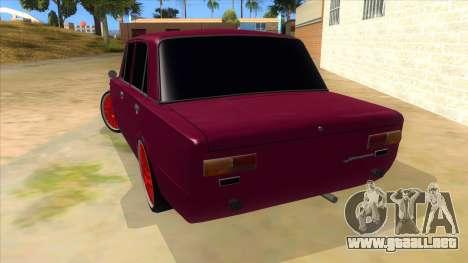 VAZ 2101 Perro para GTA San Andreas vista posterior izquierda