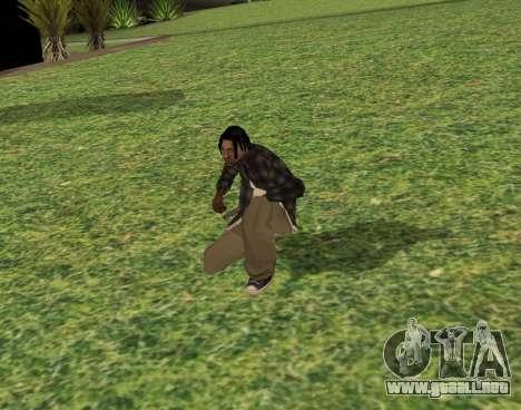 Black fam2 para GTA San Andreas tercera pantalla