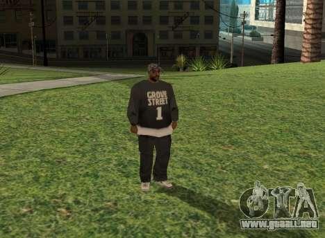 Black fam1 para GTA San Andreas
