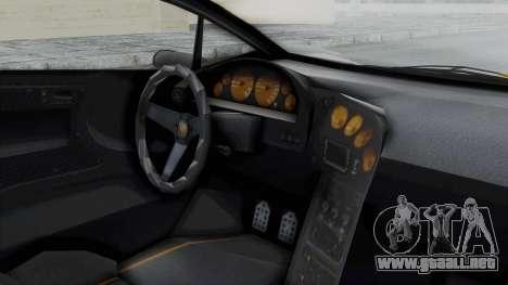 GTA 5 Zentorno Tron para la visión correcta GTA San Andreas