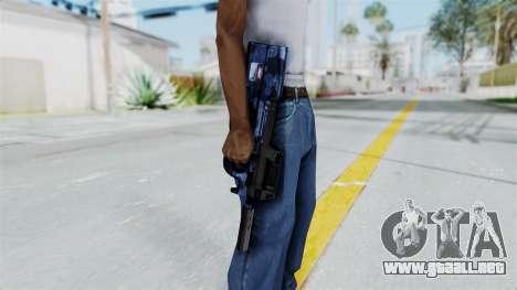 P90 Camo3 para GTA San Andreas tercera pantalla