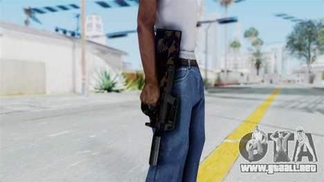 P90 Camo2 para GTA San Andreas tercera pantalla