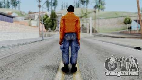 CS 1.6 Hostage 03 para GTA San Andreas tercera pantalla