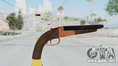 Double Barrel Shotgun Orange Tint (Lowriders CC) para GTA San Andreas tercera pantalla