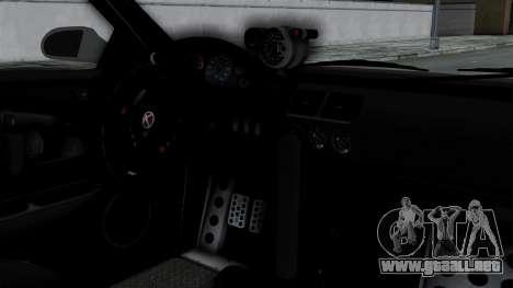 GTA 5 Karin Sultan RS Drift Double Spoiler PJ para la visión correcta GTA San Andreas