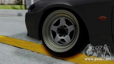 Nissan Silvia S14 Stance para GTA San Andreas vista posterior izquierda