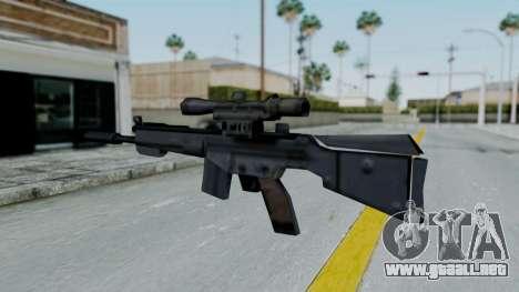 Vice City PSG-1 para GTA San Andreas segunda pantalla