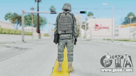 Acu Soldier 2 para GTA San Andreas tercera pantalla