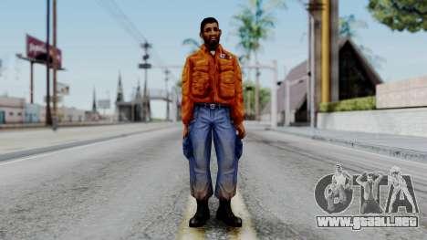 CS 1.6 Hostage 03 para GTA San Andreas segunda pantalla