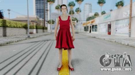 Hermione Dress para GTA San Andreas segunda pantalla