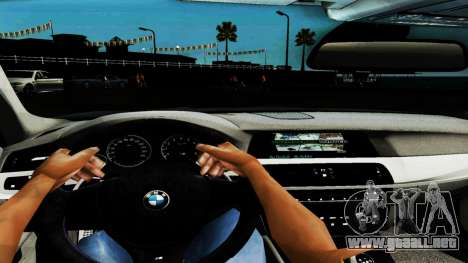 BMW M5 F10 para vista inferior GTA San Andreas