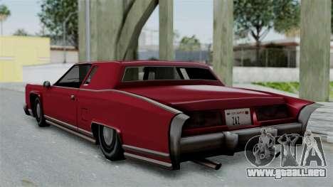 Remington Las Vivas para la visión correcta GTA San Andreas