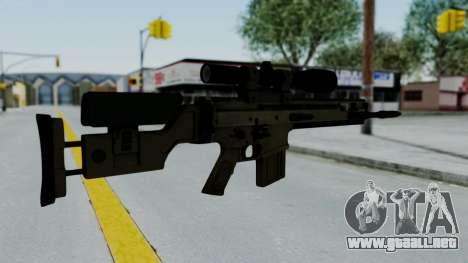 SCAR-20 v2 No Supressor para GTA San Andreas segunda pantalla
