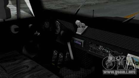Jeep con Estacas Stylo Colombia para la visión correcta GTA San Andreas