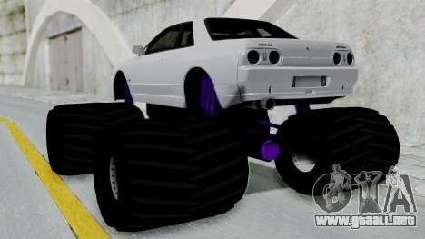 Nissan Skyline R32 Monster Truck para GTA San Andreas left