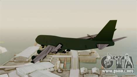 GTA 5 Jumbo Jet v1.0 para la visión correcta GTA San Andreas
