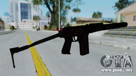 9A-91 Suppressor para GTA San Andreas segunda pantalla