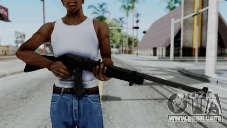 No More Room in Hell - Ruger 10 22 para GTA San Andreas tercera pantalla