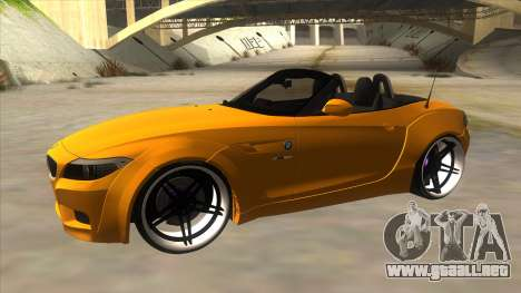 BMW Z4 Liberty Walk Performance para GTA San Andreas left
