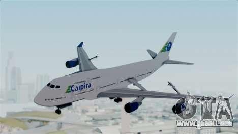 GTA 5 Jumbo Jet v1.0 Caipira Air para GTA San Andreas vista posterior izquierda