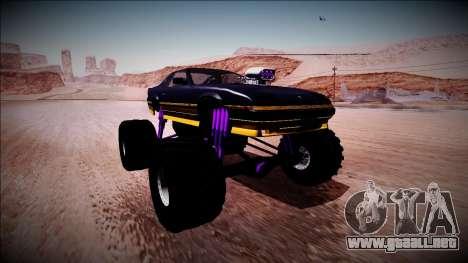 GTA 5 Imponte Ruiner Monster Truck para la visión correcta GTA San Andreas