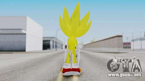Super Sonic The Hedgehog 2006 para GTA San Andreas tercera pantalla
