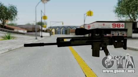 SCAR-20 v2 No Supressor para GTA San Andreas