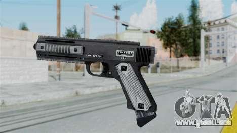 GTA 5 AP Pistol - Misterix 4 Weapons para GTA San Andreas segunda pantalla