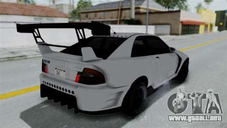GTA 5 Karin Sultan RS Drift Double Spoiler PJ para GTA San Andreas