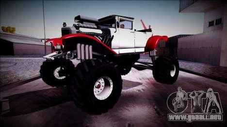 GTA 5 Albany Franken Stange Monster Truck para visión interna GTA San Andreas