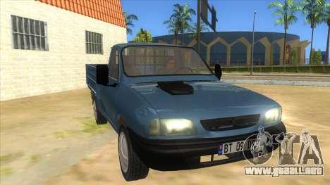 Dacia 1305 Drop-Side para GTA San Andreas vista hacia atrás