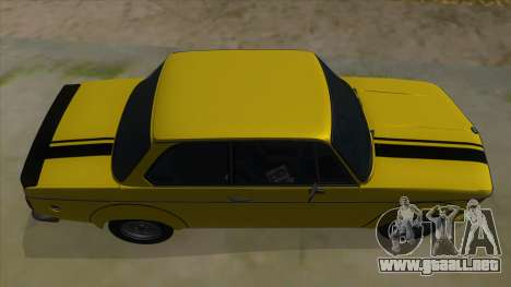 1974 BMW 2002 turbo v1.1 para vista lateral GTA San Andreas