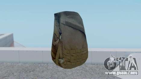 Arma 2 Czech Pouch Backpack para GTA San Andreas segunda pantalla