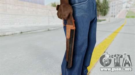 Double Barrel Shotgun Orange Tint (Lowriders CC) para GTA San Andreas