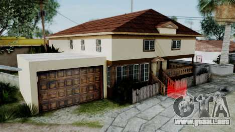 CJ House with Frame and Book para GTA San Andreas segunda pantalla
