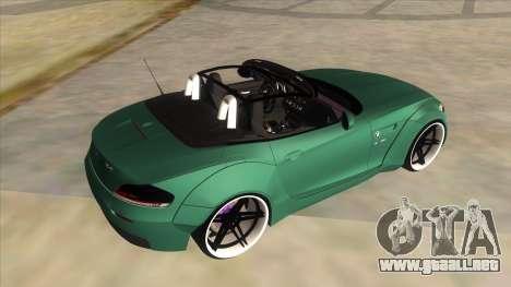 BMW Z4 Liberty Walk Performance para vista lateral GTA San Andreas