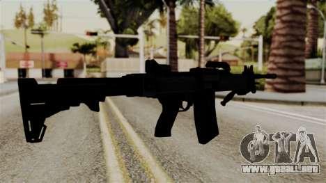IMI Negev NG-7 para GTA San Andreas segunda pantalla