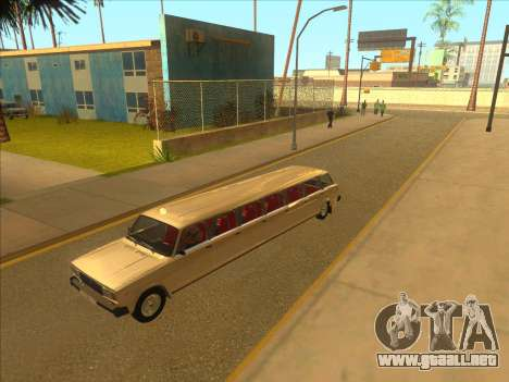 VAZ 2104 13-door para visión interna GTA San Andreas