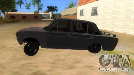 VAZ 2106 Drift Edition para GTA San Andreas left