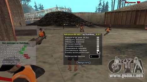 Robot minero ARP 0.3.7 para GTA San Andreas
