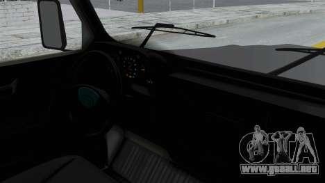Aro 241 1996 para GTA San Andreas vista posterior izquierda