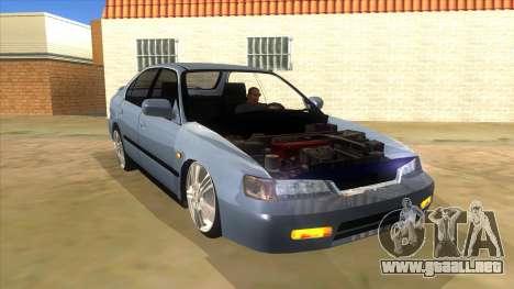 Honda Accord Sedan 1997 para GTA San Andreas vista hacia atrás